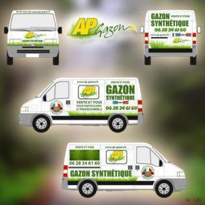 Ap Gazon Personnalisation Camion