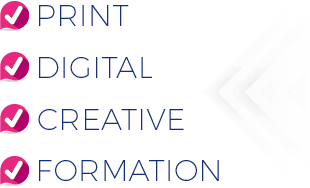 Digital Web Print Creative Formation Communication